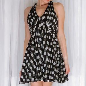 White House Black Market Dresses - Polka Dot Flirty Fun Party Dress